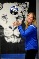 Taking charge - Former college player named Royals coach
