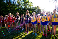 GIRLS - Cougars??? sophomore races to quick edge; New Pal takes title