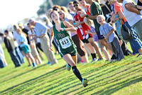 Arabian girls xc wins county; top runner sets record