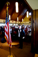 Church pays tribute to veterans with melodic ceremony