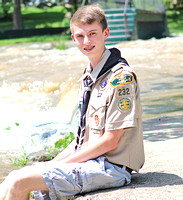 Scout attempts to raise funds for park equipment