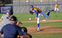 Greenfield-Central splits doubleheader against Delta