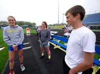 Flora siblings leaving mark on Greenfield-Central track