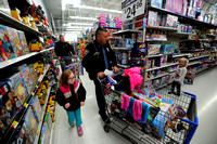 65 kids shop with officers in weekend events
