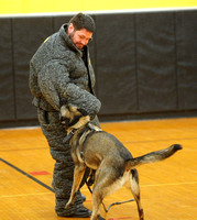 K9 unit demonstration
