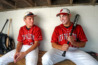 2014 Baseball Co-Players of the Year - Nick Butcher and Connor Swain