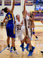 Homestead girls live up to billing vs. G-C