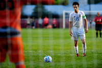 Oct. 5, 2016: Greenfield-Central soccer sectional semis