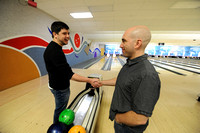 Cougars assist writers in bowling battle