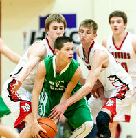 New Palestine uses depth to defeat New Castle