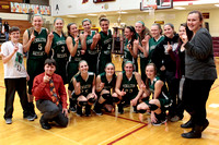 Lady Arabians win county crown