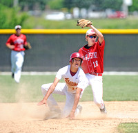 Bad breaks for New Palestine baseball