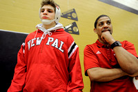 New Palestine coach affects wrestlers in, out of ring