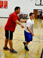 New Palestine boys hoops coach enjoying job he always wanted