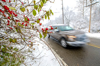 Snow-related crashes clog streets as officials warn of cold temps for week ahead