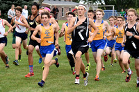 Senior leads Greenfield-Central boys team to victory at invite