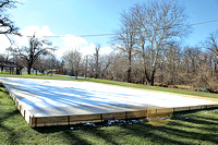 Pendleton installs ice rink, will gauge public interest in the facility