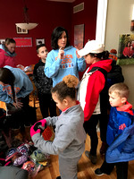 Middle school students host coat drive for Hancock County's homeless