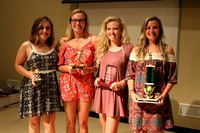 Seniors awarded at team banquet