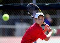 Standing Tall - Dragons' Barrett beats challenges to reign as area's top tennis ace