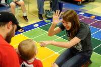 Sign language class gives voice to infants