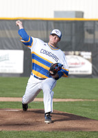 Marauders own Cougars in doubleheader