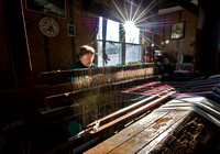 Greenfield woman keeps barn loom pastime alive
